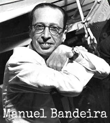 Manuel Bandeira nasceu em Recife, no dia 19 de abril de 1886. Faleceu no Rio de Janeiro, aos 82 anos, no dia 13 de outubro de 1968