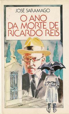 Romance de José Saramago, O ano da morte de Ricardo Reis foi publicado em 1984. Crédito da imagem: Editora Círculo de Leitores