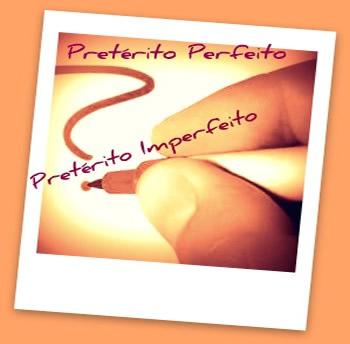 O pretérito perfeito e o imperfeito são caracterizados por marcas distintivas, necessárias ao nosso conhecimento