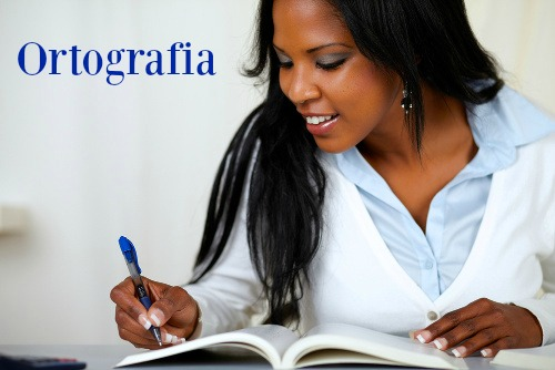 Ortografia é o conjunto de regras estabelecidas pela gramática normativa para a grafia correta das palavras