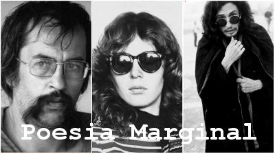 Paulo Leminski, Ana Cristina César e Torquato Neto estão entre os principais representantes da Poesia Marginal ou Geração Mimeógrafo*