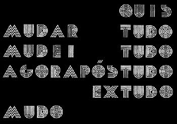 Augusto de Campos: pós-tudo, 1984
