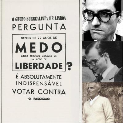 Alexandre O' Neill, José Augusto França e Mário Cesariny estão entre os principais representantes do Surrealismo português