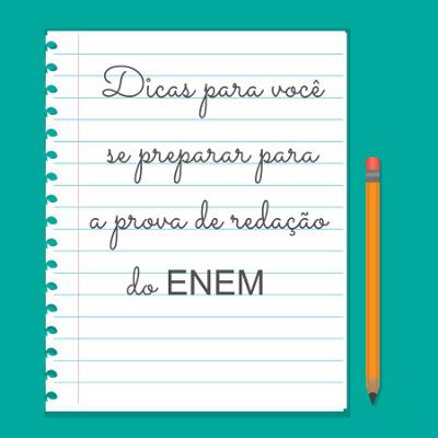 Separamos para você 25 dicas para a redação do Enem!