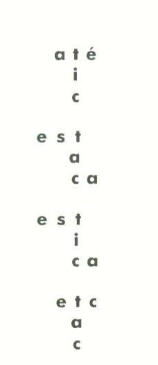 Ronaldo Azeredo: Tic Tac, 1962